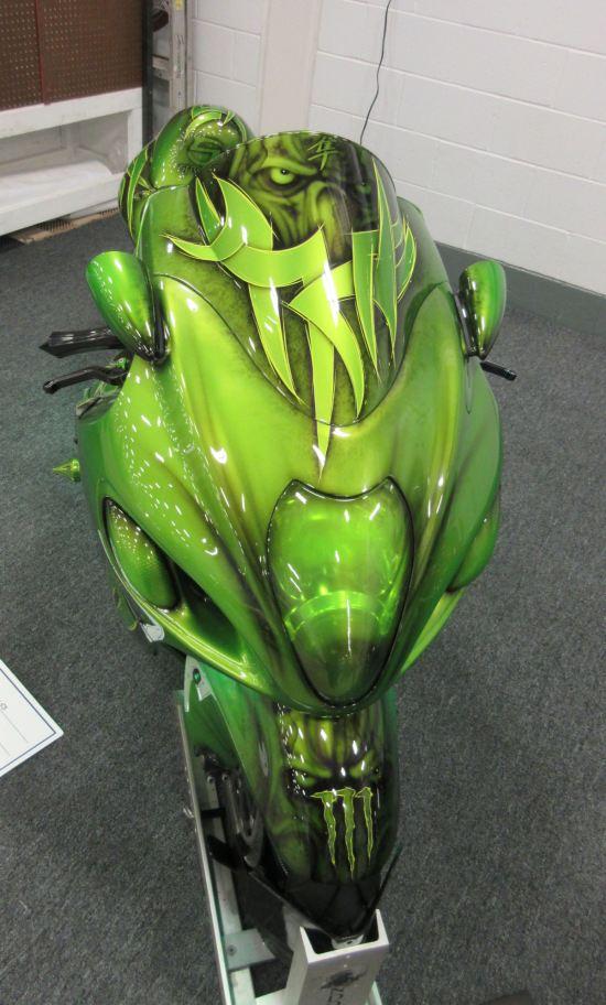 Suzuki sci-fi cycle!