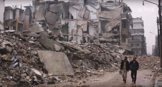 The White Helmets.