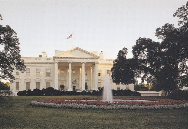 White House Postcard!
