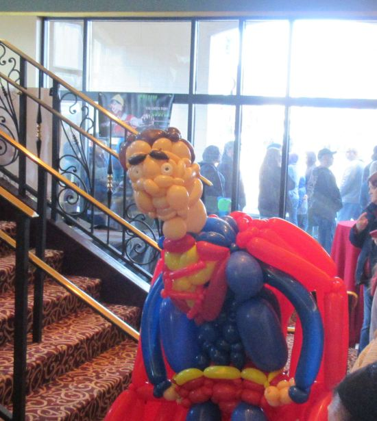 Balloon Superman!