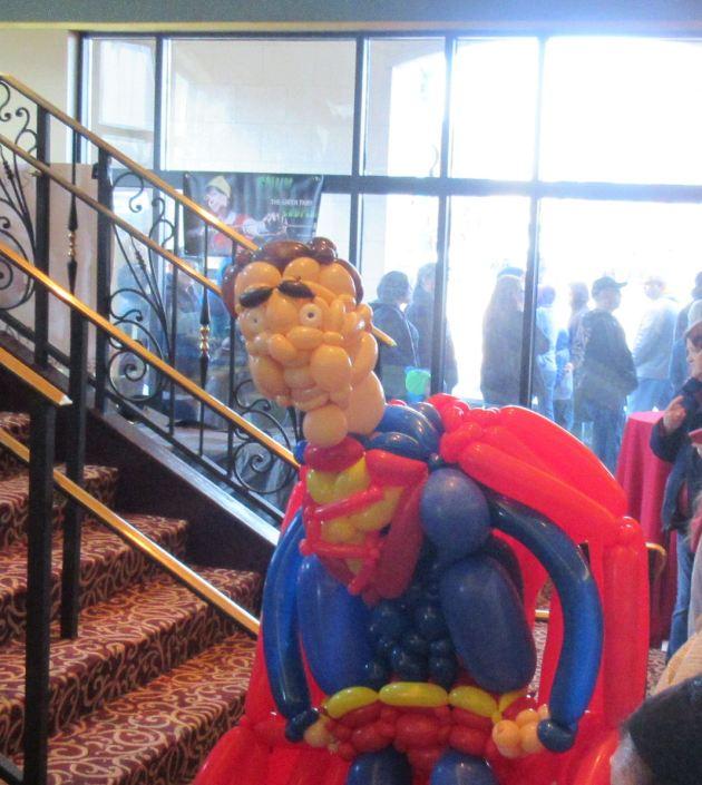 Balloon Superman!