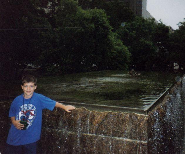fountain!