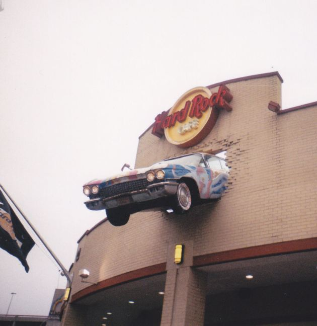 Hard Rock Cafe!