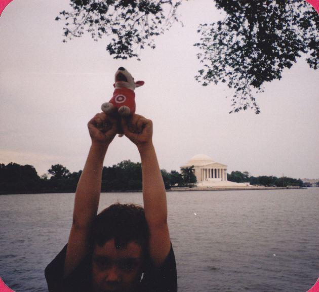 Jefferson Memorial and Bullseye!