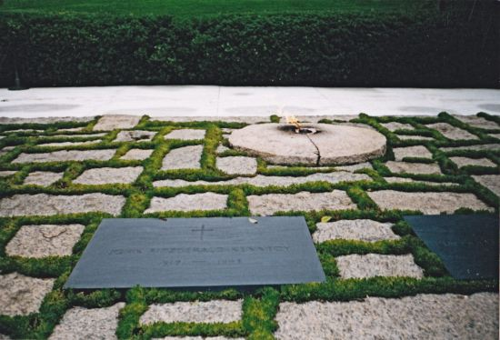 The John F. Kennedy Eternal Flame.