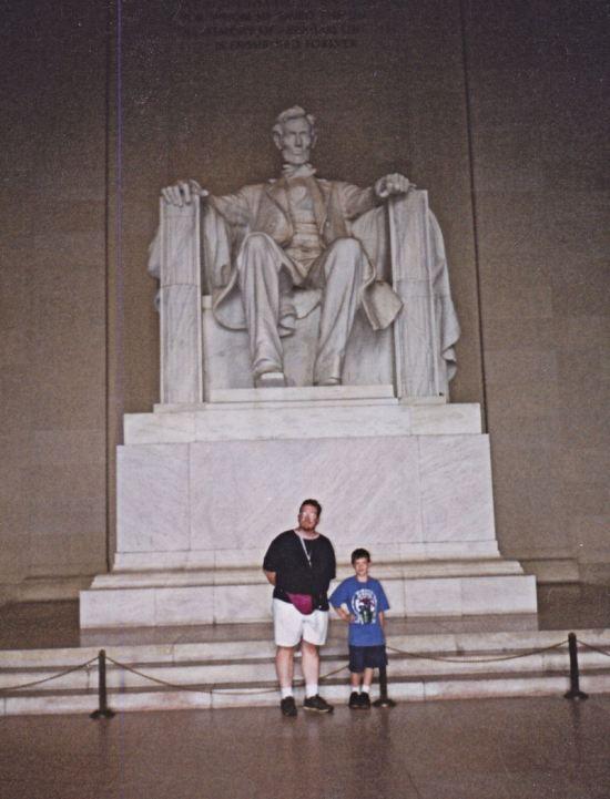 Lincoln Memorial!