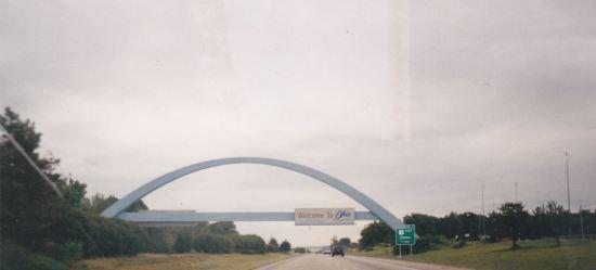 Ohio border!