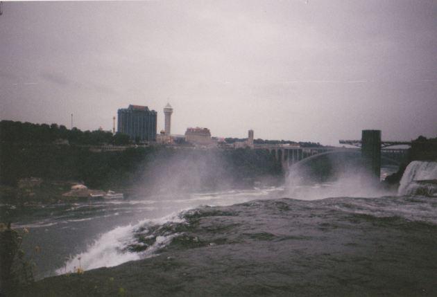 Over Niagara Falls!