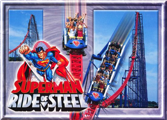 Ride of Steel postcard!