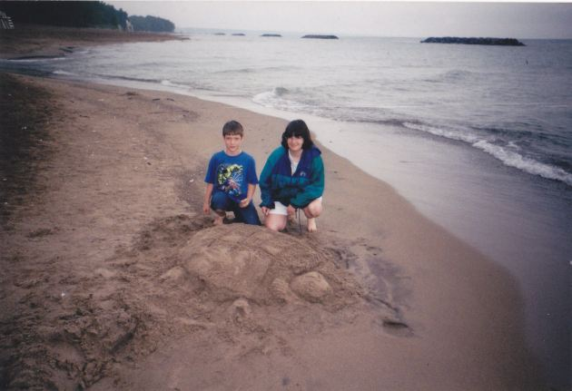 Sand Turtle!