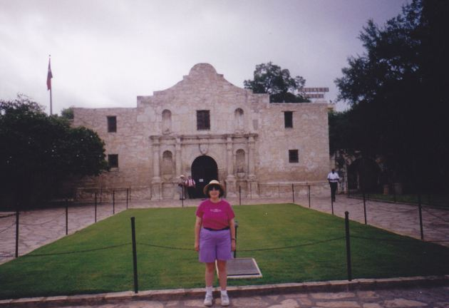 Alamo Morning Anne!