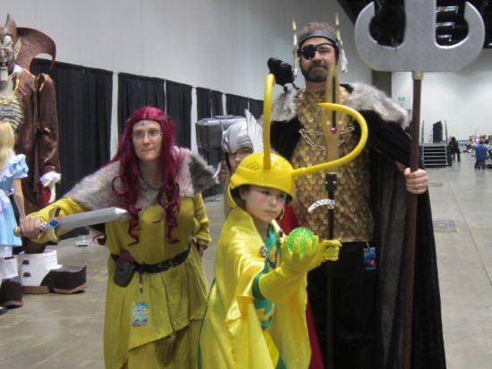 Asgardian family!