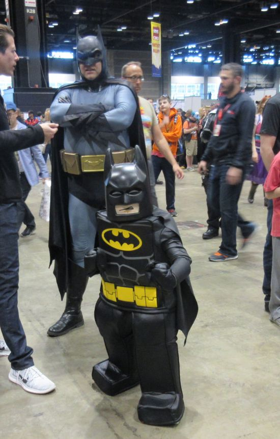 Batman and Lego Batman!
