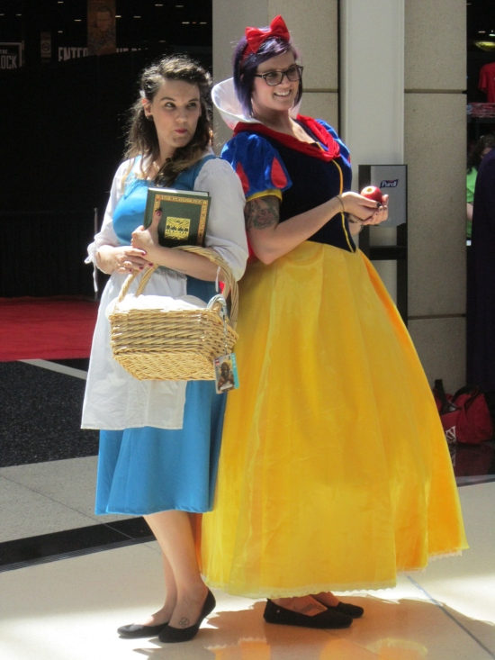 Belle + Snow White!