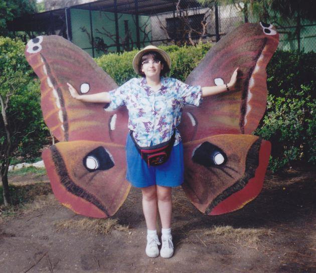Butterfly Anne!