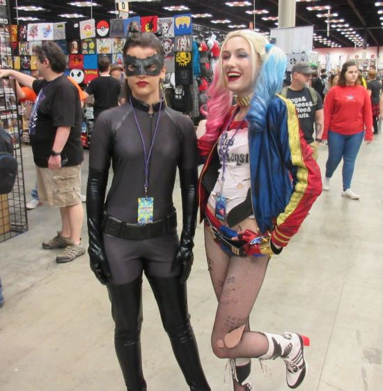 Catwoman + Harley!