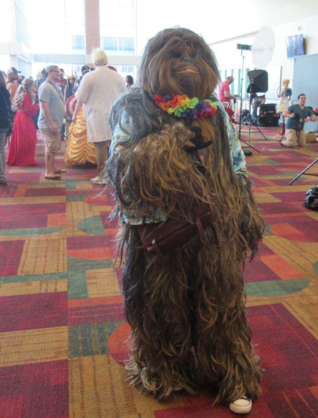 Hawaiian Wookiee!