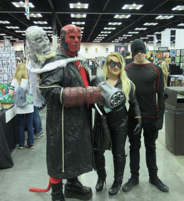 Hellboy! Canary! Daredevil!
