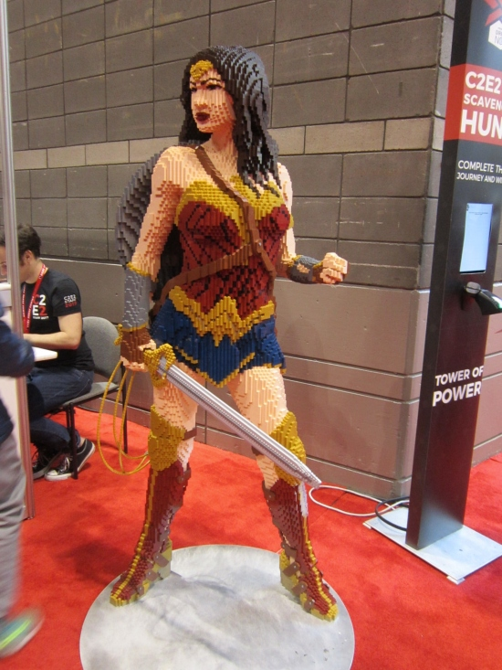 Lego Wonder Woman!