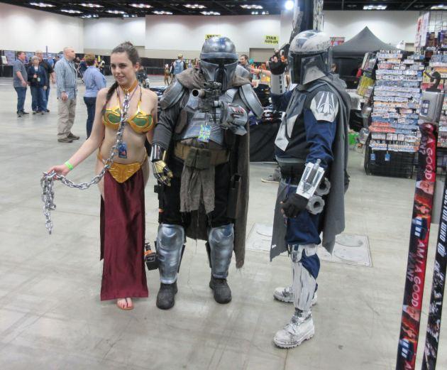 Leia + Mandalorians!