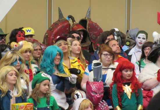 Cosplay army!