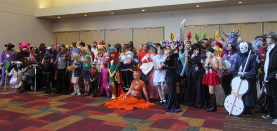 Indiana Comic Con cosplayers!
