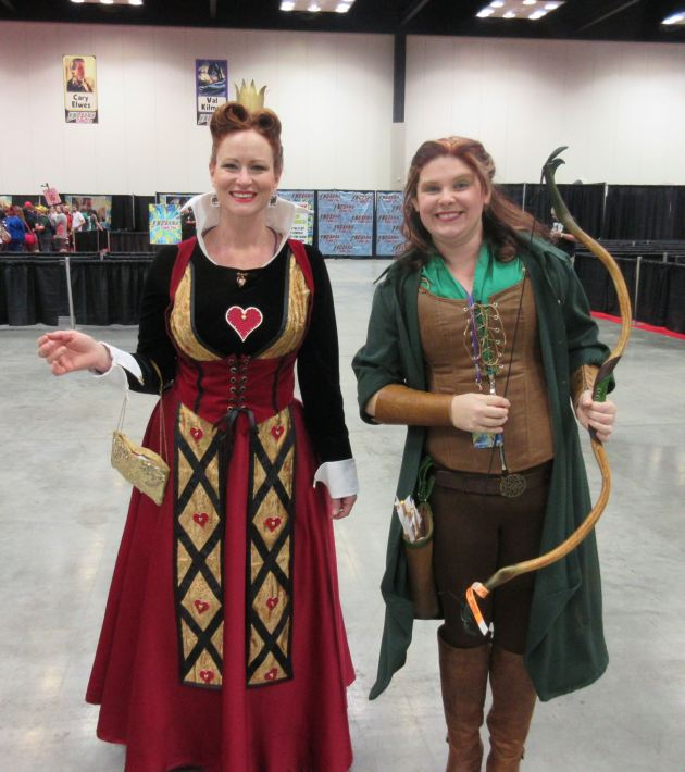 Queen of Hearts + Robin Hood!
