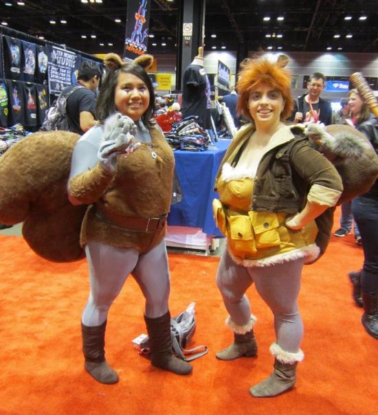 Squirrel Girls!