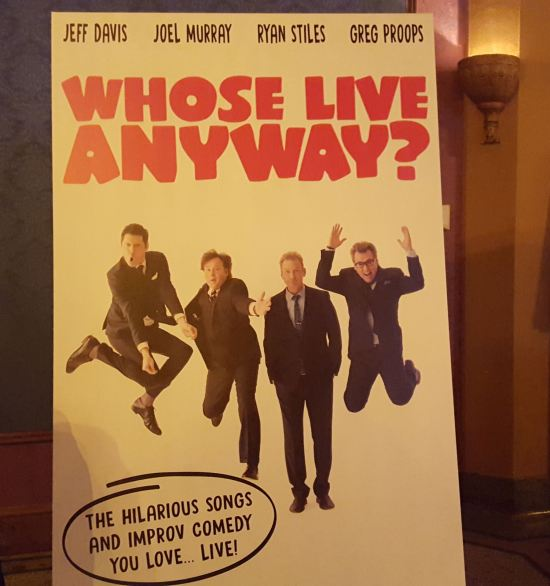 Whose Live Anyway!