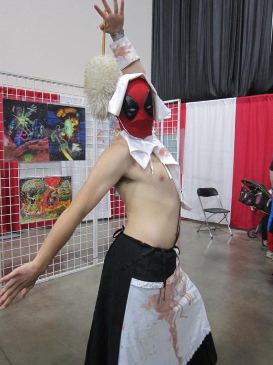 bloody maid Deadpool?