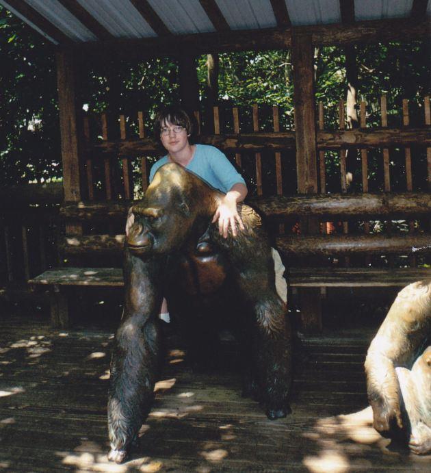 Fake Gorilla!