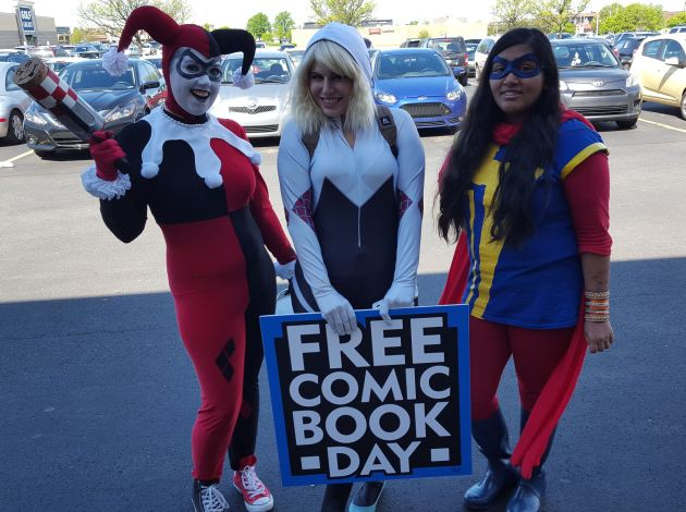 Free Comic Book Day 2017!
