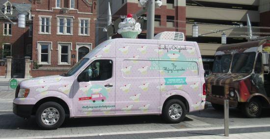 Flying Cupcake!