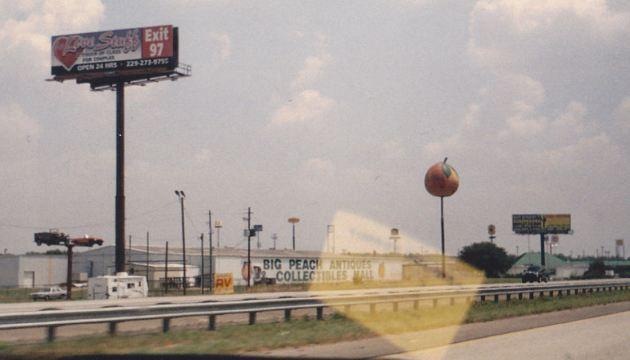 Giant Peach!