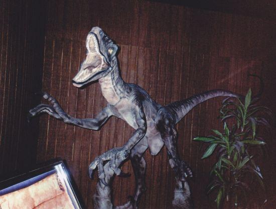 Inside Velociraptor!