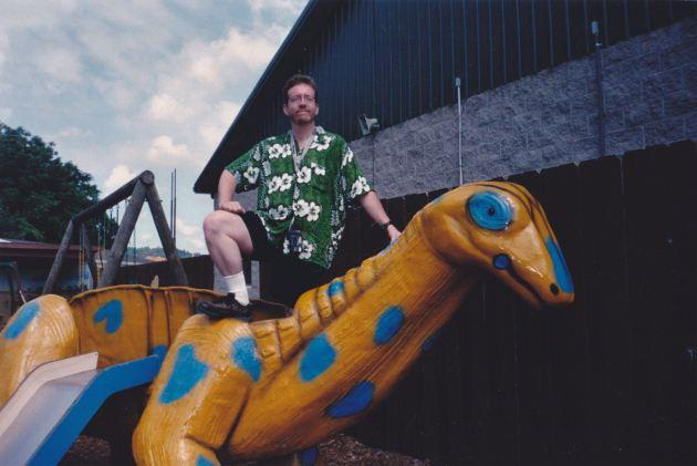 King Dino Slide!