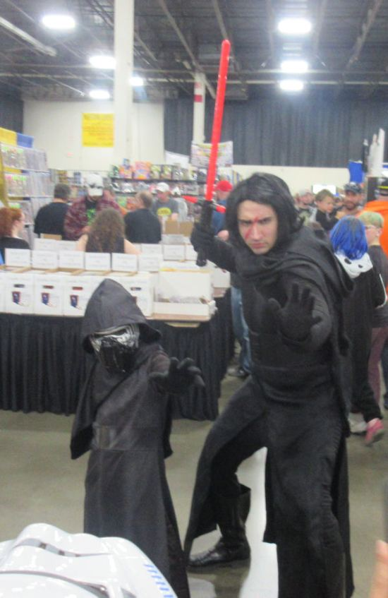 Kylo Ren and Mini-Ren!