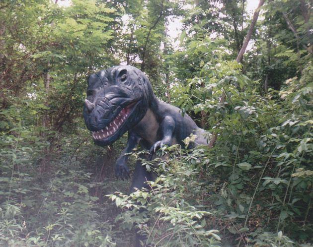 Lurking T-Rex!