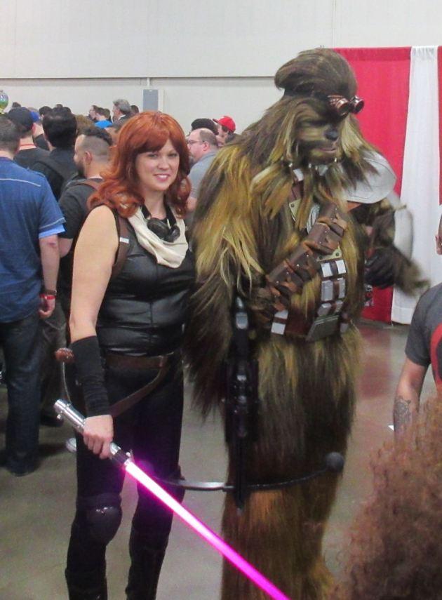 Mara Jade and Wookiee!