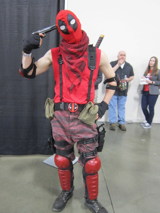 Ideal means to spruce up like Deadpool Wade Winston Wilson