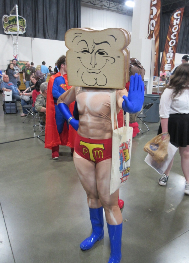 Powdered Toast Man!