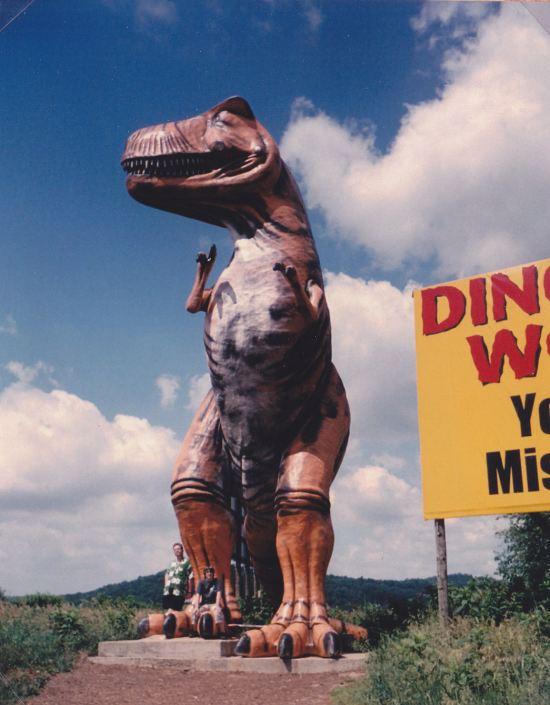 Roadside T-Rex!