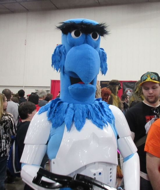 Trooper Sam the Eagle!