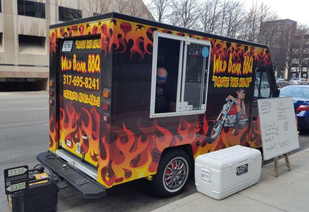 Food Trucks Near Th Street