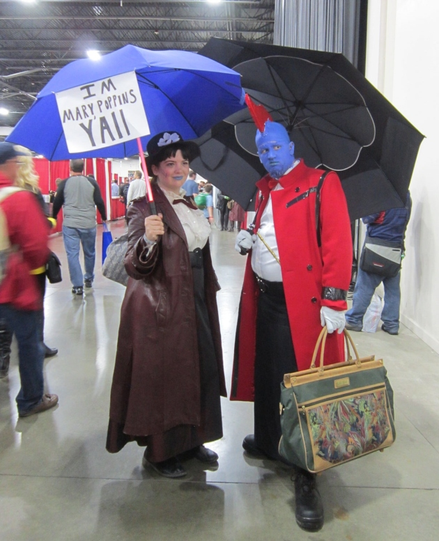 Yondu and Mary Poppins!