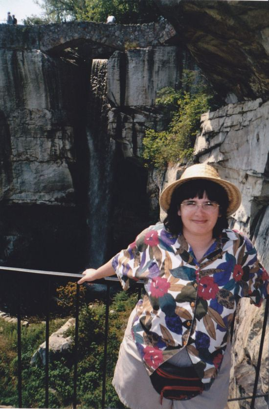 Anne + Waterfall!