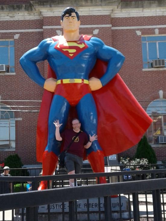 Superman Statue!