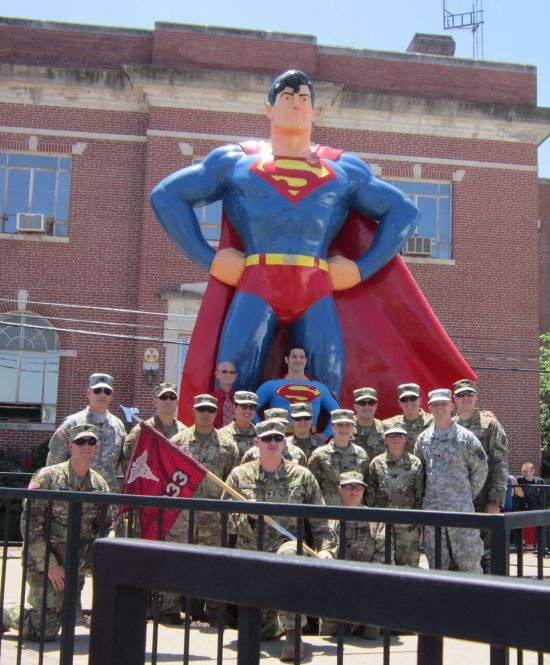 Superman + Military!