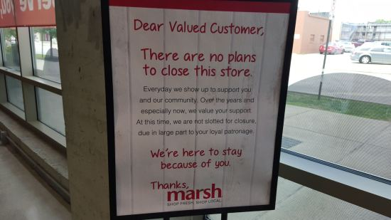 Marsh Supermarkets!