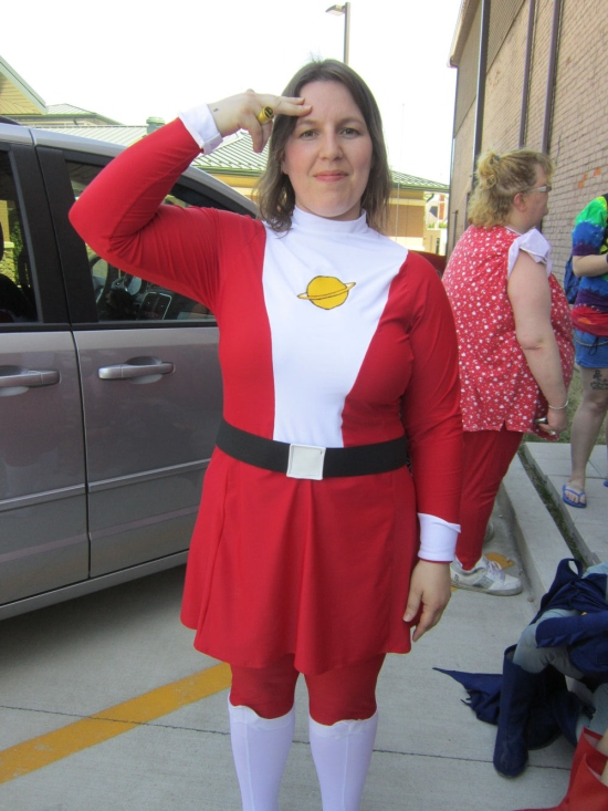 Saturn Girl!